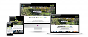 The new fully responsive Ber Street Hub website designed & developed by visualise